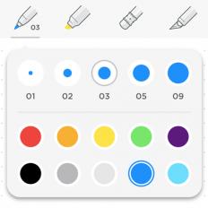 iOS 版更新|新增手写涂鸦功能,用彩笔随手勾勒灵感