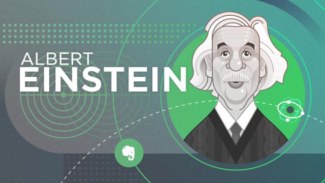 阿尔伯特•爱因斯坦的独特思维方法