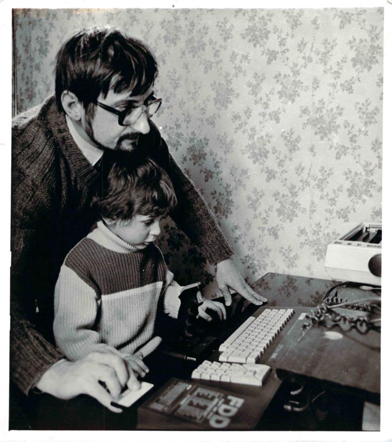 教孩子电脑