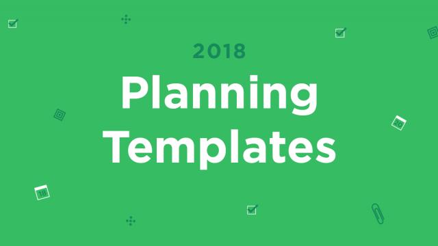 印象笔记2018计划模板来了!